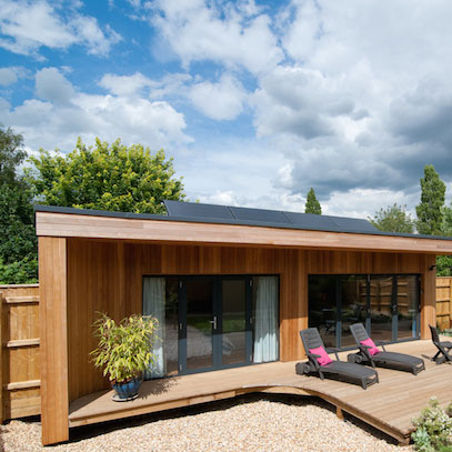 Large or small garden studios Cambridge UK - outdoor rooms ...